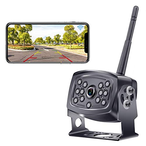 Rohent HD WiFi Digital Wireless Backup Camera for Trucks