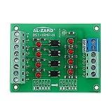 BliliDIY 3,3 V A 5 V / 12 V / 24 V 4 Canali Optoaccoppiatore Scheda Di Isolamento Modulo Isolato Uscita Pnp Convertitore Di Tensione Livello Segnale Plc - 24V