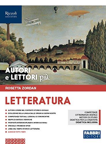 Autori e lettori più. Con Letteratura. Per la Scuola media. Con ebook. Con espansione online (Vol. 2)