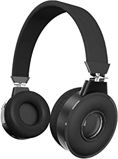 Zinq Technologies Beatle 5155 Super Bass Bluetooth On-Ear Headphones with Mic (Black)