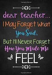 Teaching kids with special needs- Dear teacher notebook