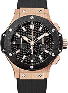 Hublot Big Bang Gold Ceramic Men's Automatic Watch 301-PM-1780-RX Shop and Reviews and review