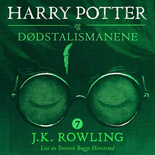 Harry Potter og Dødstalismanene audiobook cover art