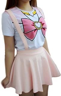 Anime Sailor Moon Style T-Shirt Cosplay Costume