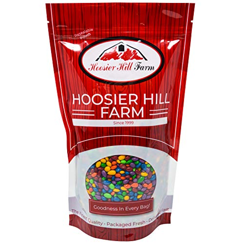 Hoosier Hill Farm Chocolate Covered & Candy Coated Sunflower Seeds, 1.5 Pound