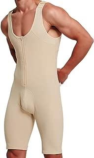 QUAFORT Men Shapewear Tummy Control Full Body Shaper Bodysuit Slim Waist Trainer Girdle