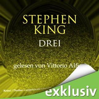 Drei (Der dunkle Turm 2)                   Autor:                                                                                                                                 Stephen King                               Sprecher:                                                                                                                                 Vittorio Alfieri                      Spieldauer: 14 Std. und 32 Min.     448 Bewertungen     Gesamt 4,2