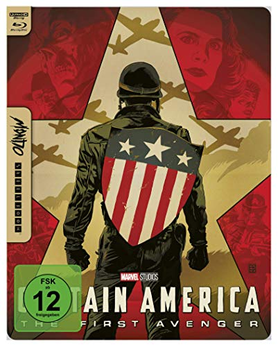 Captain America - The First Avenger - 4K UHD Mondo Steelbook Edition [Blu-ray]