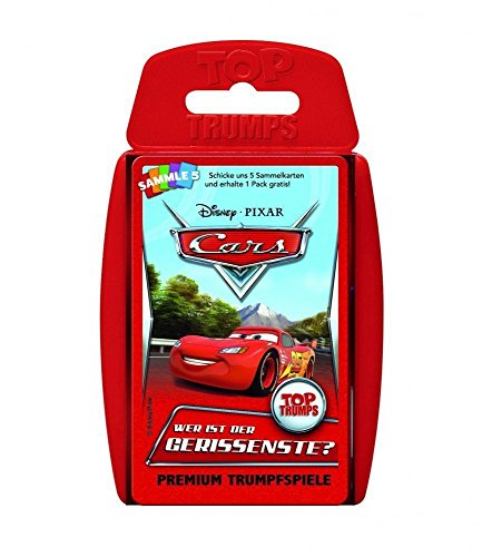 Top Trumps Disney Cars: World of Cars 62288 Disney Cars