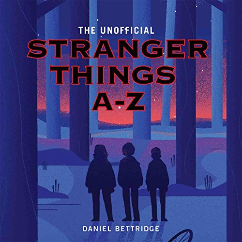 Stranger Things A-Z audiobook cover art