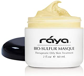 RAYA Bio-Sulfur Masque (708) | Deep Pore Cleansing Facial Treatment Mask for Oily, Problem, and Break-Out Skin | Made with...