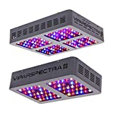VIPARSPECTRA UL Certified 300W LED Grow Light Plus UL Certified 600W LED Grow Light, Full Spectrum Plant Growing Lights for Indoor Plants Veg and Flower