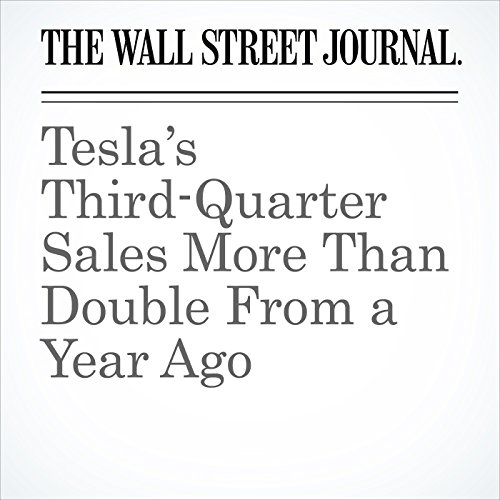 Tesla's Third-Quarter Sales More Than Double From a Year Ago cover art