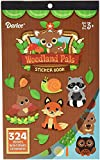 Darice, 324 Piece, Woodland Critters Theme Activity Sticker Book, Assorted