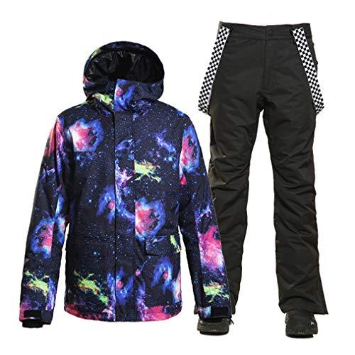 Skipak, regenjas voor heren, warm, waterdicht, jas, regenjas, winter, casual, mantel met capuchon voor bergen, wandelen, reizen