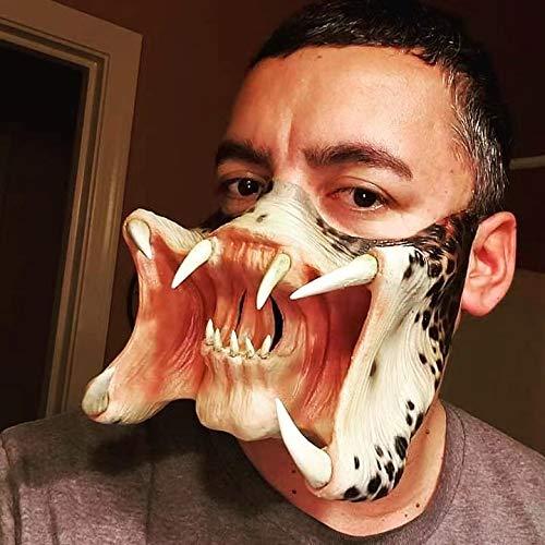 yeyoxin Alien vs Predator Mask Warrior Costume Realistic Party Halloween Mask Dress Up