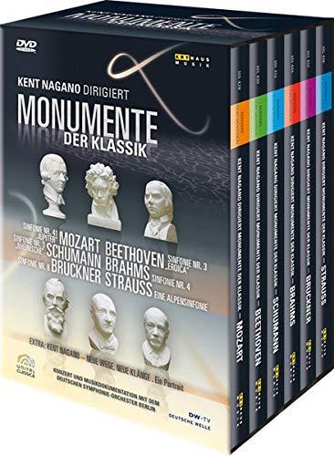 Monumente der Klassik - Box - Kent Nagano dirigiert [7 DVDs]