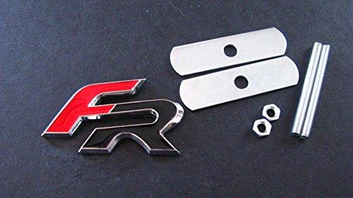 Insignia FR para rejilla delantera para Seat León, Córdoba, Altea, Cupra e Ibiza