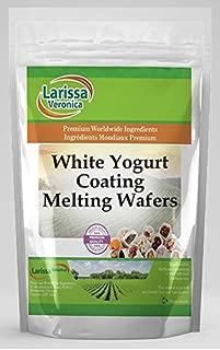 White Yogurt Coating Melting Wafers (16 oz, ZIN: 525295) - 2 Pack