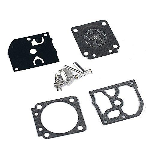 Savior RB-66 Carburetor Rebuild Kit for Sthil 017 018 MS170 MS180 BG75 FC55 FC75 FC85 FS46 FS55 FS75 FS80 FS85 FS4137 HL45 HL75 HS75 HS80 HS85 HT70 HT75 ZAMA Chiansaw