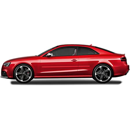 Dawn Enterprises FE-AUDI-A5-4DR Finished End Body Side Molding Compatible with Audi A5 NAVARRA Blue Metallic LX5H//2D S5