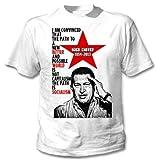 Hugo Chavez Venezuela Leader–Amazing Graphic–Camiseta Weiß XX-Large