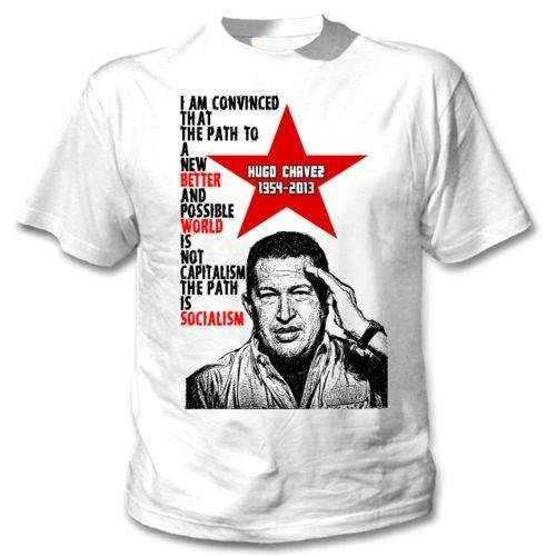 Hugo Chavez Venezuela Leader – Amazing Graphic – Camiseta Weiß xx-large