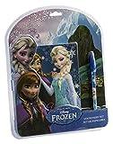 Kids Licensing–wd16904–Set de papelería–Carnet +–Bolígrafo–Frozen