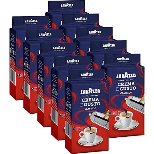 Lavazza Crema e Gusto Ground Coffee 250g (Pack of 10)