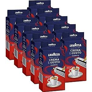 Lavazza Crema e Gusto, Café Molido, 10x 250g