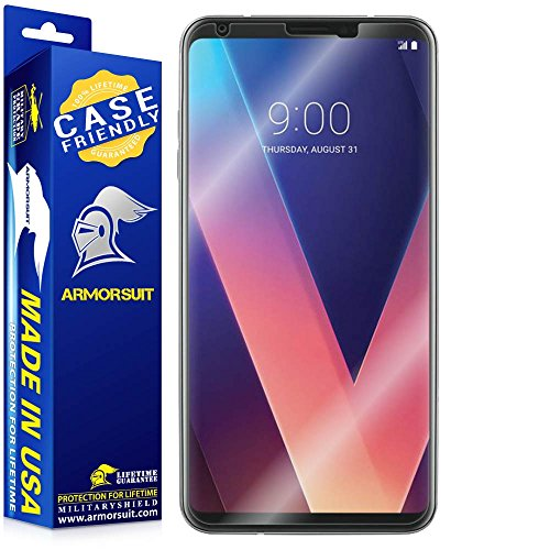 ArmorSuit MilitaryShield [Case Friendly] Screen Protector for LG V30 - Anti-Bubble HD Clear Film