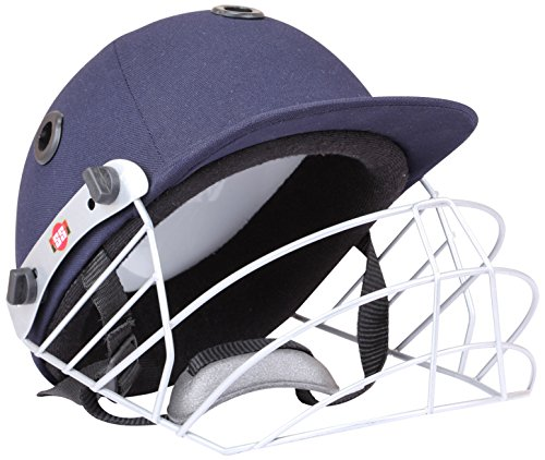 SS Cricket Prince Helmet' Navy Blue Color (Medium)