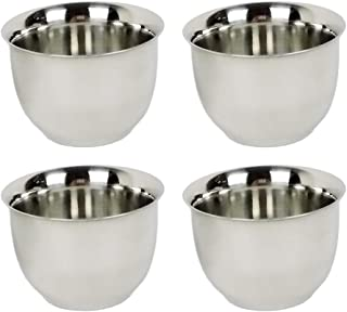 4 Pcs Stainless Steel Coffee Mug Insulated Double Wall Tumbler 50ml/1.7oz