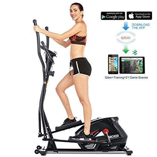 FUNMILY Eliptical Exercise Machine for Home Use,Magnetic Elliptical Cross Trainer...