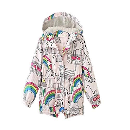 Rainbow Kordelzug Kappen Reißverschluss Windbreaker Jacke YunYoud mädchenjacke leichte wolle jeansjacke herbst jacke daunen kinder winterjacken coole daunenmantel schneejacke