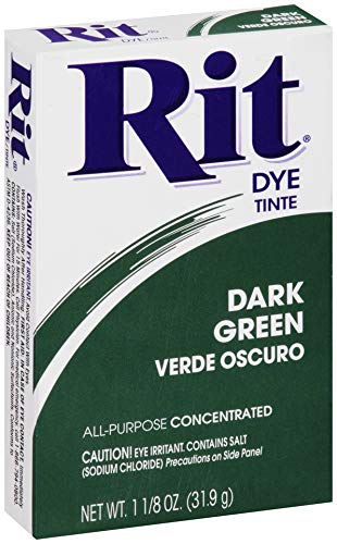 Rit, Dark Green Purpose Powder Dye, 1-1/8 oz