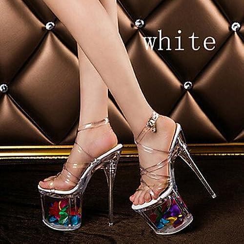Zormey Les Souliers Pour Sexystiletto Pompes Talon Chaussures Parti Nous Blanc8   Eu39   Uk6   Cn39