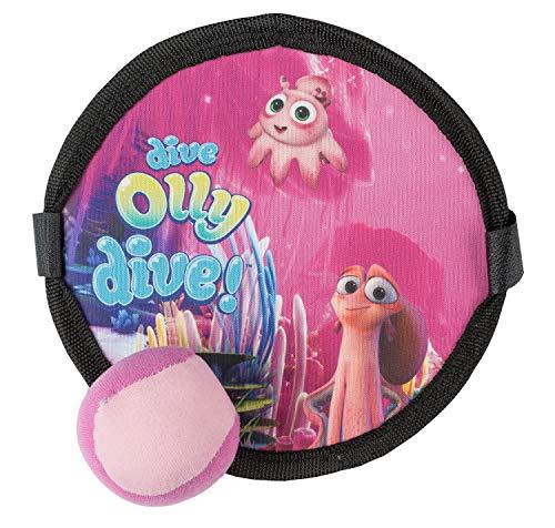 III D7015ABC/R Soft Klettballspiel für Kinder ab 3 Jahren, Timmy, Tauch Motiv, ca. 19 cm, rosa, bunt