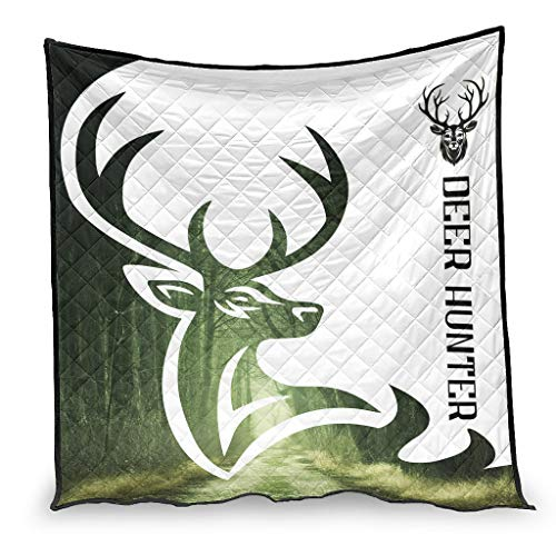 YshChemiy Deer Hunter - Manta de algodón para silla, 150 x 200 cm