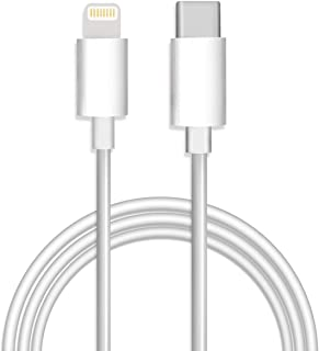 Type-C to Lightning ケーブル Olysa USB Type-C Lightning ケーブル type c to lightning pd lightning usb-c usb c to lightning iPhone 充電ケーブル 1M ライトニングケーブル PD(Power Delivery)対応 macbook usb-c 充電 高耐久 3A 急速充電対応 iPhone X/XS/iPhone XS MAX/iPhone XR/iPhone 8/8 Plus/iPad/iPod などに対応 ホワイト