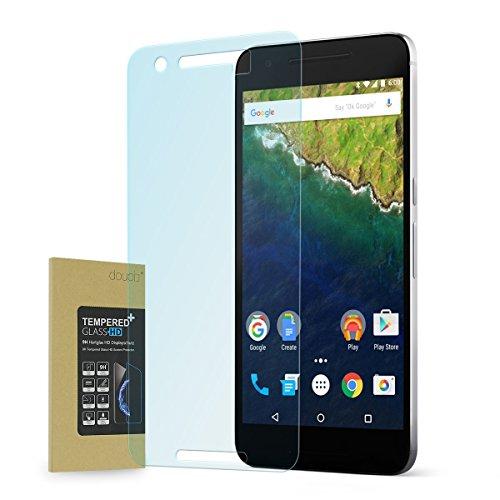 doupi Panzerfolie für Huawei Nexus 6P, Premium 9H Hartglas HD Bildschirm Schutz Glasfolie