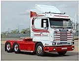 Italeri 3944S Scania Streamline 143H 6x2 - Réplica Fiel de maquetas, Manualidades, aficiones, Pegado, Kit de construcción de plástico, Montaje