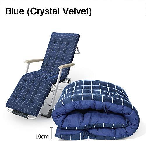 Tuinstoel kantelbaar zitkussen Outdoor zitkussen hoge rugleuning zacht en comfortabel met zachte vulling geschikt voor bureau- en huisstoelen polyestervezel Cord-stof