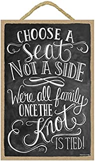 SJT ENTERPRISES, INC. Choose a seat not a Side, We're All Family Once The Knot is Tied 7