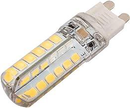 X-DREE AC 220V 4W G9 2835SMD LED Corn Light Bulb 48-LED Silicone Lamp Warm White (6e09e0c7-a222-11e9-8d7c-4cedfbbbda4e)