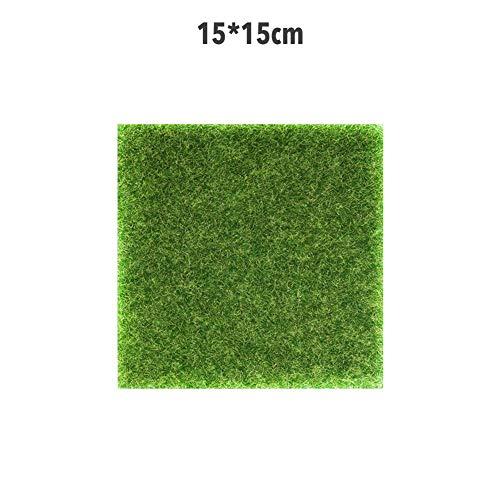 Yatter Künstlicher Strohmatten-Teppich Im Freien Künstliches Grasgrün Natürlicher Und Realistischer Gartenrasen Mit Hoher Dichte, Der Für Die Begrünung Der Gartenlandschaft Im Freien Verwendet Wird