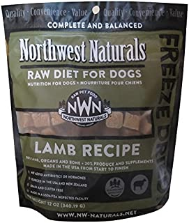 Northwest Naturals Freeze Dried Raw Dog Food Nuggets, 12 oz.