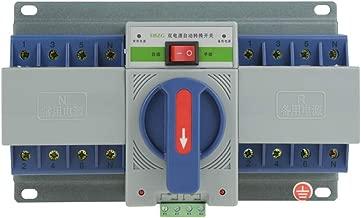 1pc 220V 63A 4P Mini Dual Power Automatic Transfer Switch Circuit Breaker