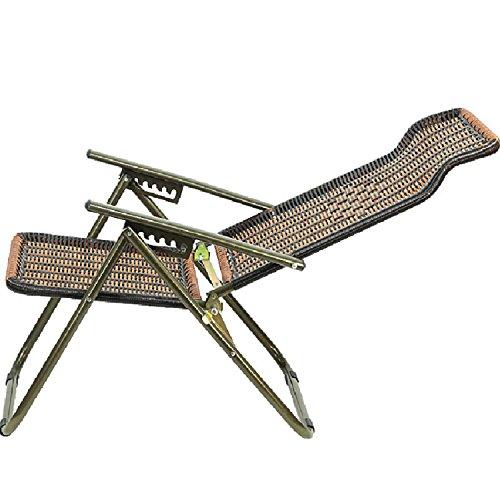 GAOJIAN Klappstuhl Plastik Rattan Lounge Stühle Büro Nap Stuhl Home Balkon Freizeit Stuhl Outdoor Strand Stuhl