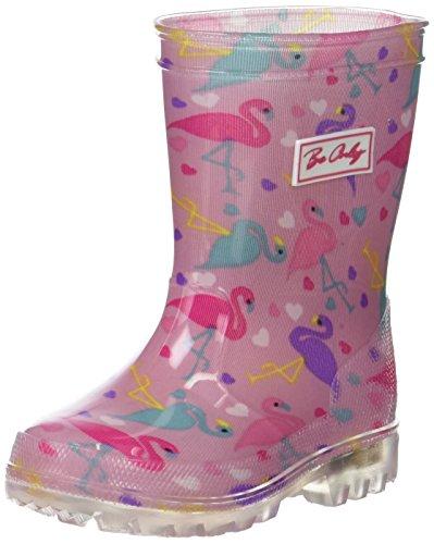 Be Only Mädchen Flamingo Kid Flash Gummistiefel, Rosa, 29 EU